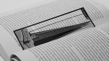 The Shard - Stainless Steel Bookmark - Locomocean