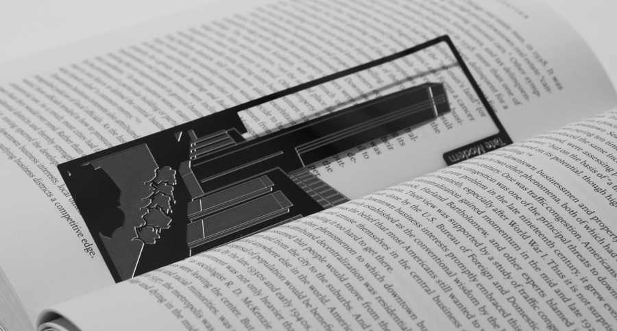 Tate Modern - Stainless Steel Bookmark - Locomocean