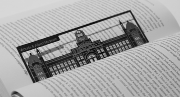 Victoria Albert Museum - Stainless Steel Bookmark - Locomocean