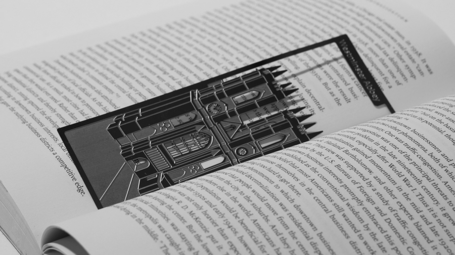 Westminster Abbey - Stainless Steel Bookmark - Locomocean