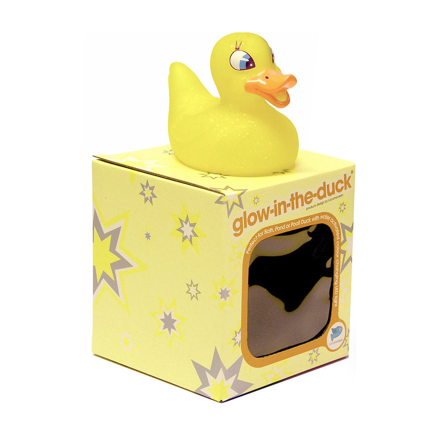 Yellow Duckie - 'Glow In The Duck' - Locomocean