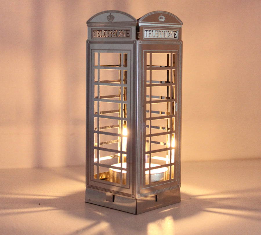 Telephone Box Tea Light Holder - Locomocean Ltd