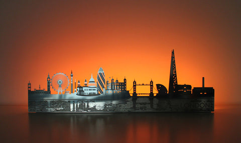 Light-up London Skyline