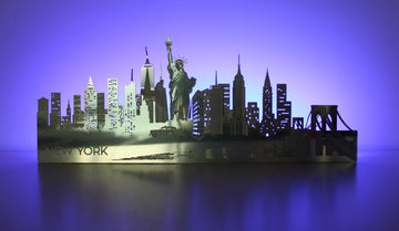 Light-up New York Skyline - Locomocean