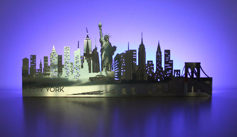 Light-up New York Skyline