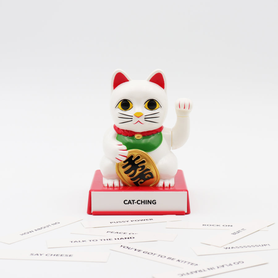 Cattitude - Lucky Cat with Interchangeable Hands - Locomocean Ltd