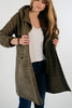 Ellie and June California Moonrise Hooded Maxi Coat