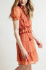 Ellie and June California Moonrise Layered Ruffle Dress