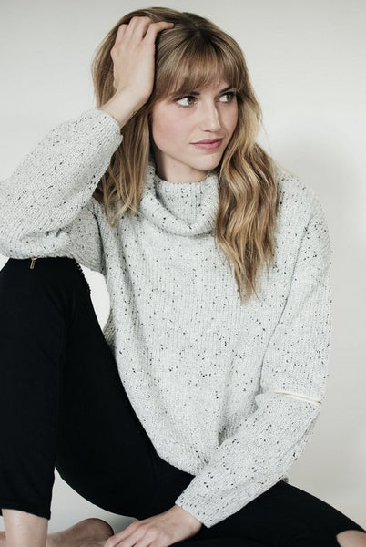 Ellie and June Zipped Sweater