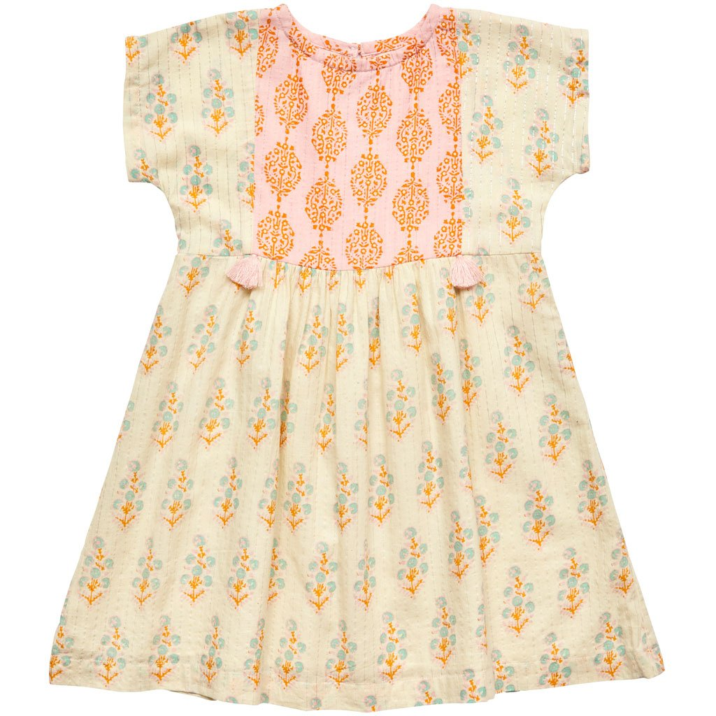 Ellie and June Pink Chicken Bette Dress