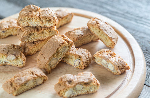 Cantuccini - mandelsmåkager