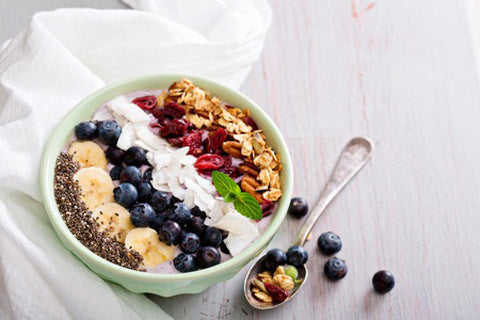 Chia smoothie bowl