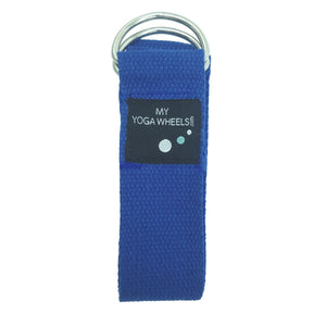 Yoga Strap (Blue) - MyYogaWheels - buy yoga wheel and accessories online