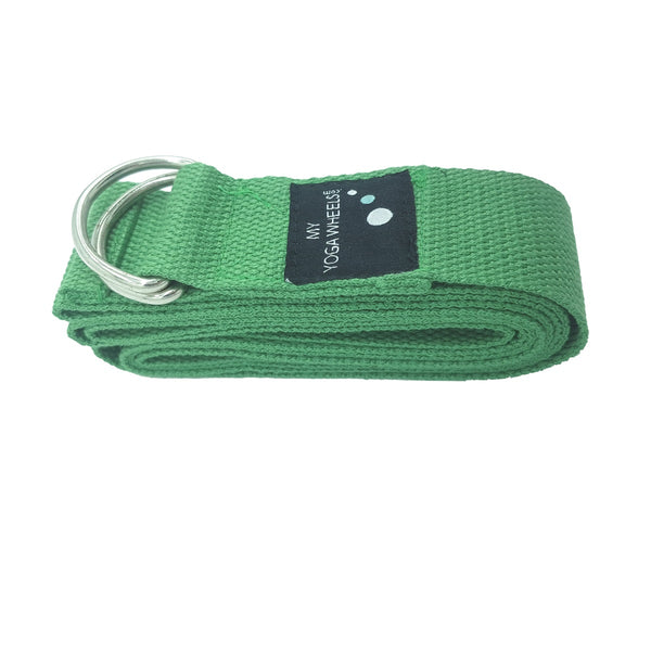 Yoga Strap (Green) - MyYogaWheels - buy yoga wheel and accessories online