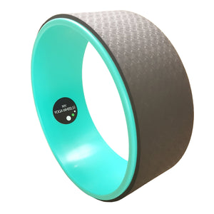 Green + Black Yoga Wheel - MyYogaWheels - buy yoga wheel and accessories online