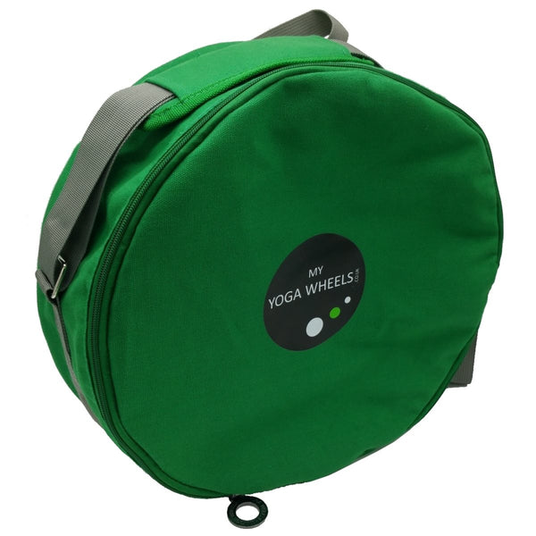 Yoga Wheel Bag - Green - MyYogaWheels - buy yoga wheel and accessories online