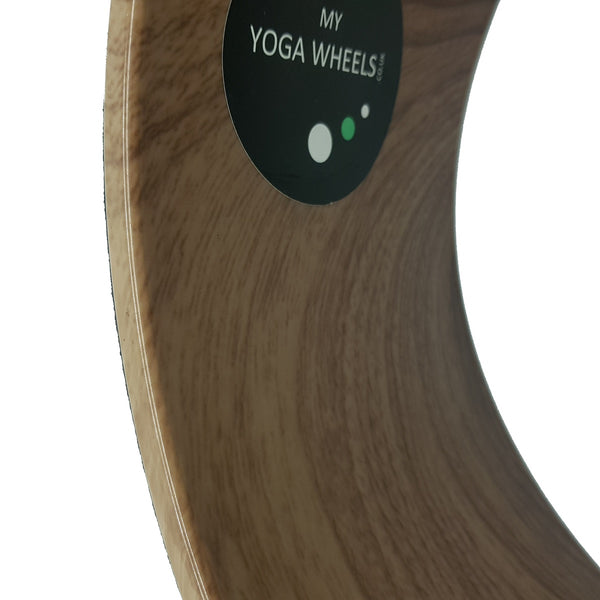 Wood Yoga Wheel - MyYogaWheels - buy yoga wheel online