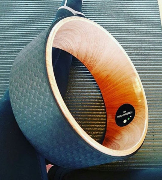 Wood Yoga Wheel - MyYogaWheels - buy WOOD yoga wheel online