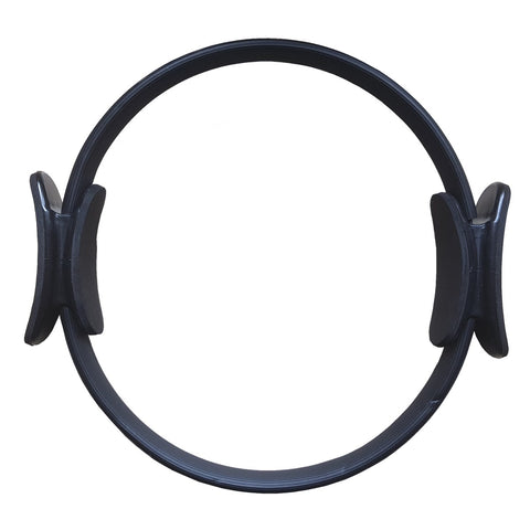 Pilates Ring Black - Dual Handle and Padded Grip - MyYogaWheels - buy yoga wheel and accessories online