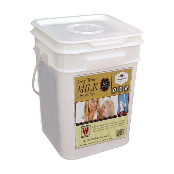 120 Servings Dry Powdered Whey Milk