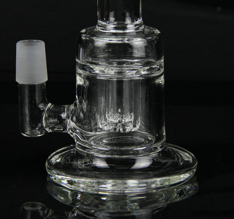 Canterino Clear Glass Water Bong Pipe