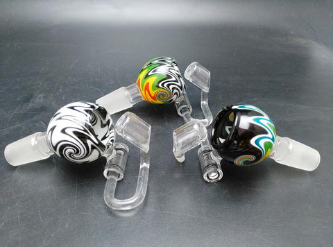 Wig Wag Glass Bowl with Honey Bucket