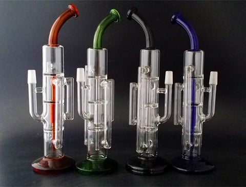 Biochem Double Recycler Percolator Water Pipe