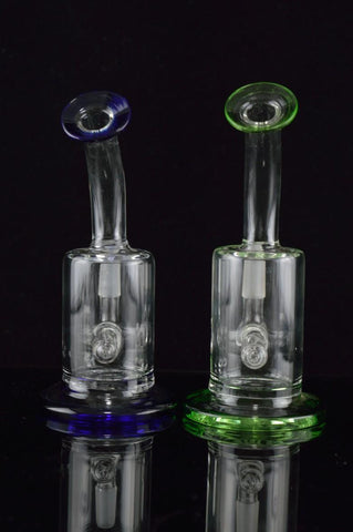 The KZoo Percolator Glass Water Pipe