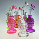 Mothership Recycler Faberge Egg Percolator Water Pipe
