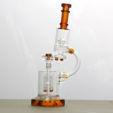 Dabberscope Microscope Percolator Glass Water Pipe