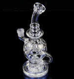 MotherShip Life Ball Glass Water Pipe