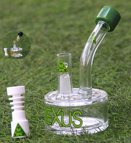 Nexus Percolator Glass Water Pipe