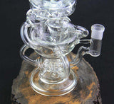 Hydro Pig Double Recycler Percolator Water Pipe