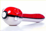 Pokemon Ball Glass Spoon Pipe