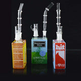 Liquid Sci Glass Juice Box Water Pipe Oil Rig
