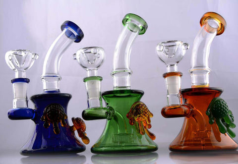Mr Magoo Glass Water Pipe Oil Rig
