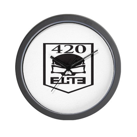 420 Elite Wall Clock