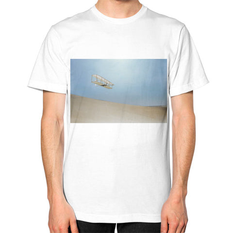 Unisex T-Shirt (on man) White Retronaut