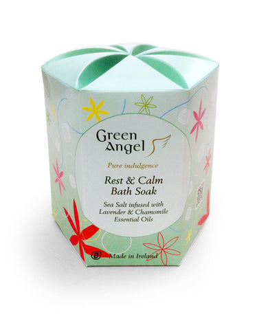 Green Angel Rest & Calm Traditional Irish Bath Soak