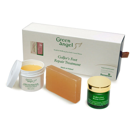 Green Angel Golfer's Foot Repair Treatment Gift Set