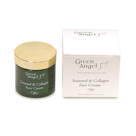 Green Angel Seaweed & Collagen Face Cream Oils