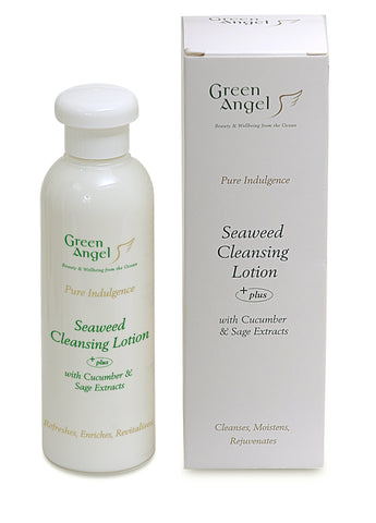 Green Angel Seaweed Cleansing Lotion With Cucumber And Sage Extracts
