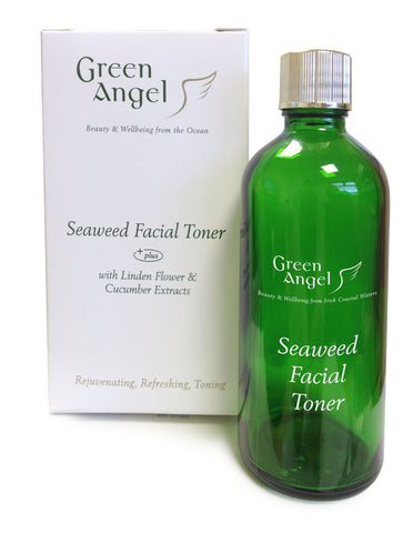 Green Angel Seaweed Facial Toner with Linden Flower & Cucumber Extracts