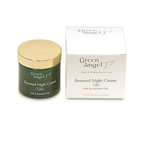 Green Angel Night Cream - Seaweed  6 Essential Oils