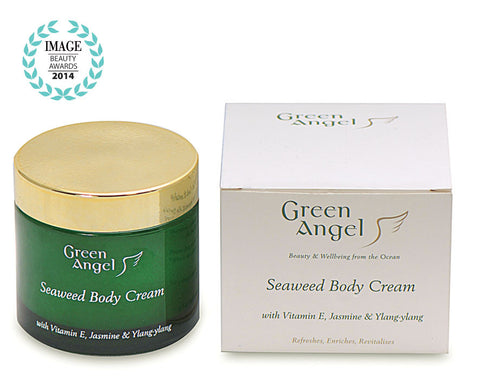 Green Angel Seaweed Body Cream with Vitamin E, Jasmine & Ylang-ylang