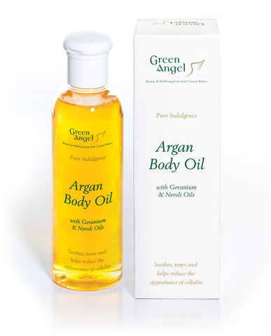 Green Angel Argan Body Oil - Neroli Geranium