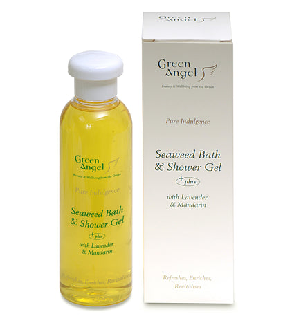 Green Angel Seaweed Bath & Shower Gel With Lavander & Mandarin