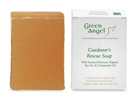 Green Angel Gardeners Soap with Seaweed & Tea tree