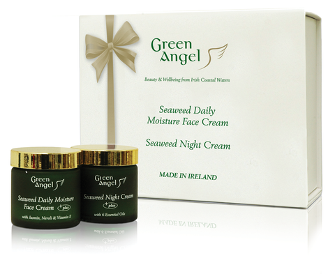 Green Angel Gold Ribbon  Gift Set
