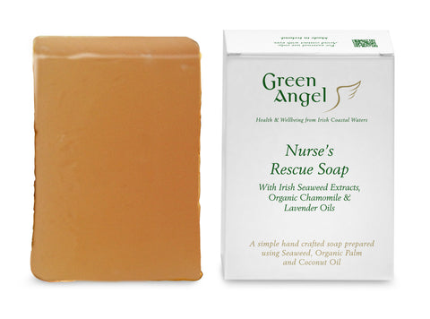 Green Angel  Nurses Soap with Seaweed,  Lavender & Chamomile  Oil